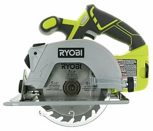 New Ryobi P506 One+ Lithium Ion 18V 5 1/2 Inch 4,700 RPM Cordless Circular Saw