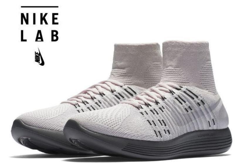Nike Femme NikeLab Lunarepic Flyknit Pearl Rose/Pure Platinum8  EUR 42.5