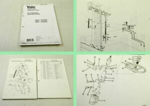 Yale-BKS-GDP-020-032-EP-Gabelstapler-Ersatzteilliste-Parts-List-Fork-Truck-1974