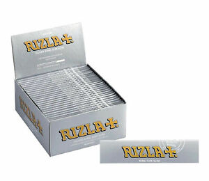 Full-Box-of-50-Rizla-Silver-King-Size-Slim-Cigarette-Rolling-Papers