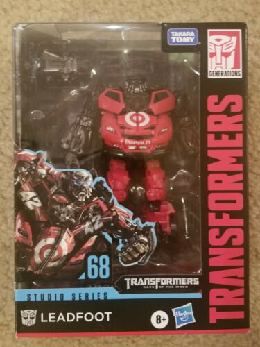 TRANSFORMER STUDIO SERIES 68 LEADFOOT TARGET EXCLUSIVE IN HAND FREE SHIPPING