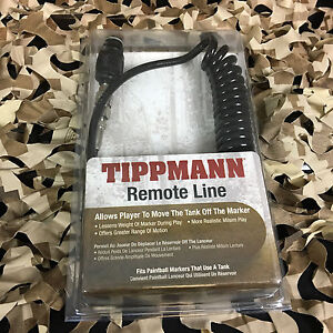 NEW-Tippmann-Paintball-Coiled-Remote-Air-Tank-Line-Hose-H-01