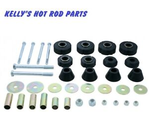 1967-72-CHEVY-amp-GMC-Pickup-1-2-TON-TRUCK-CAB-MOUNT-KIT-38-PIECES