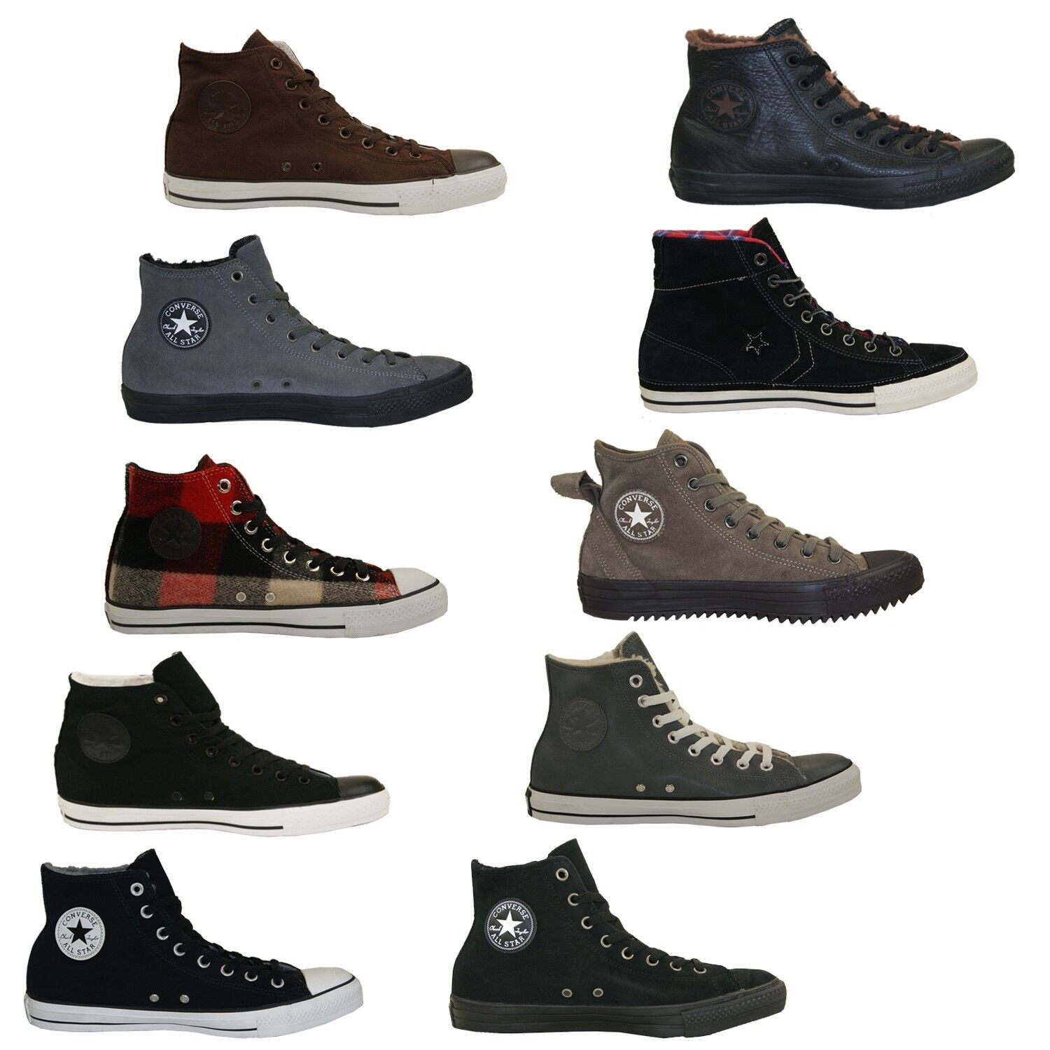 Converse All Stars paniers Converse Bottes Homme Femme Hiver Chaussures Neuf