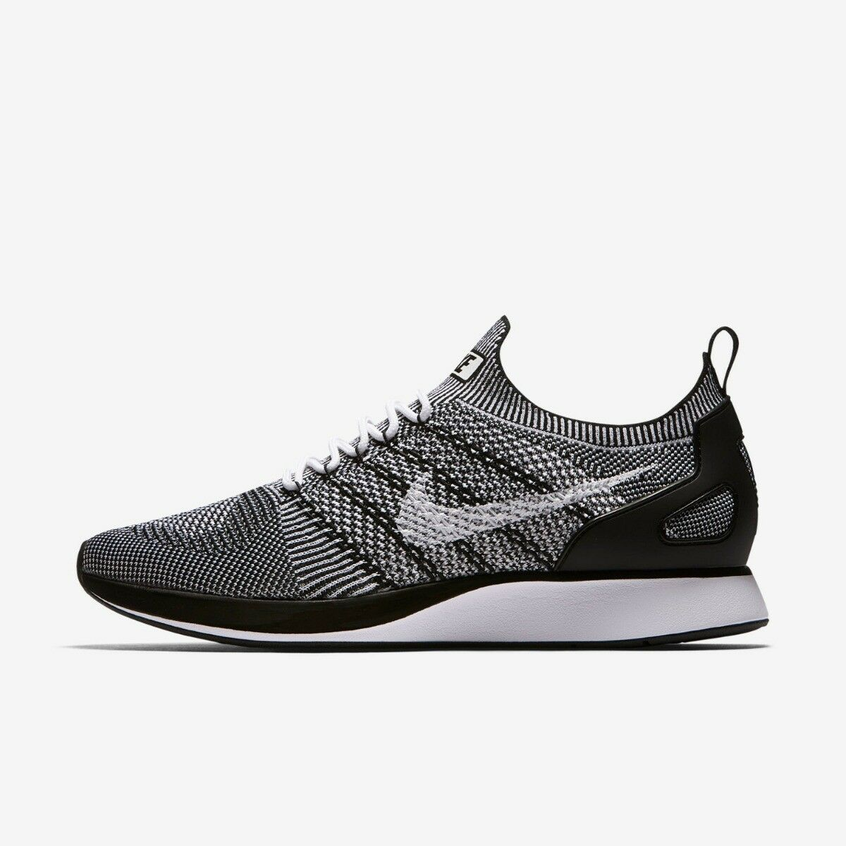 Nike Air Zoom Maria Flyknit Racer Mens Trainer shoes White Black 11