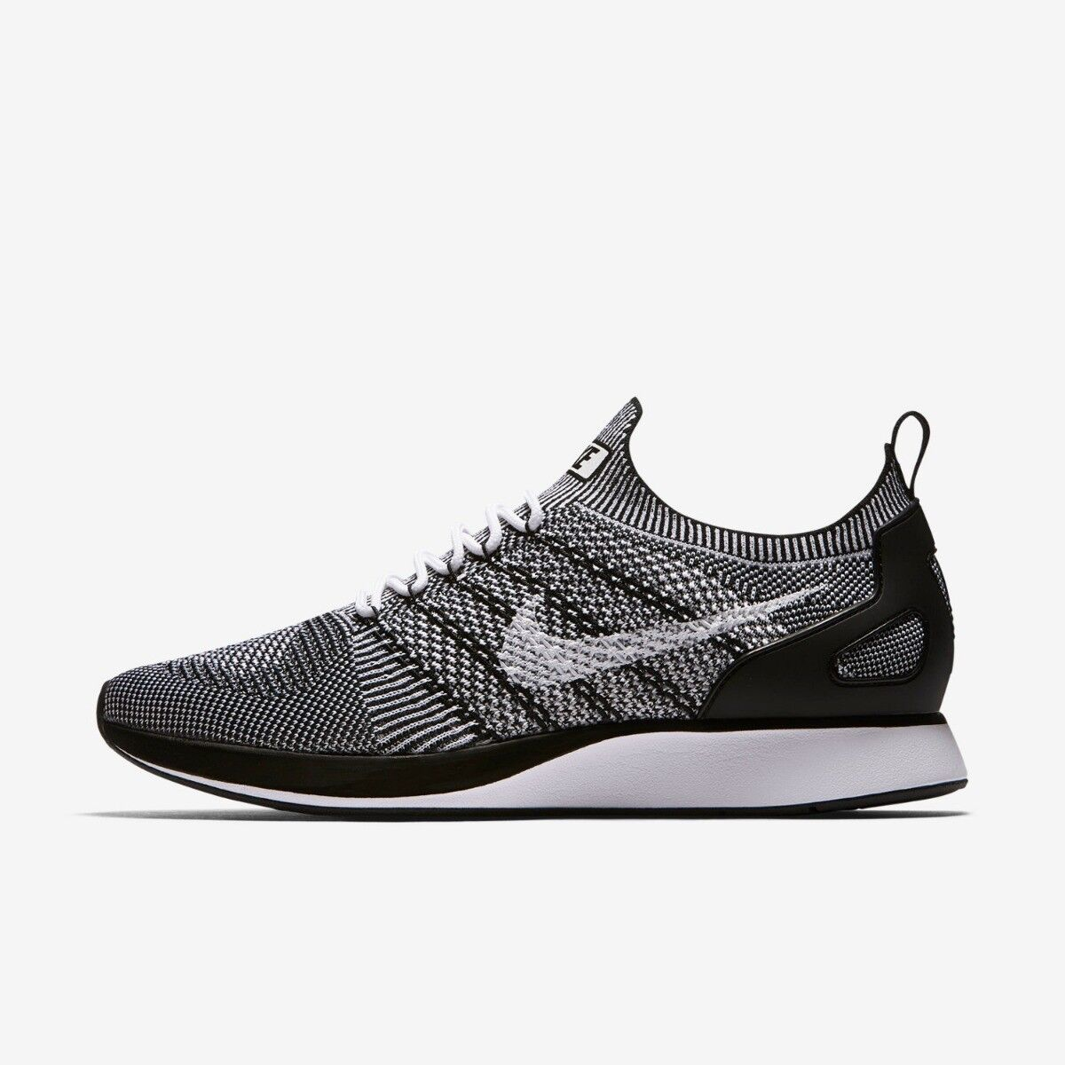 Nike Air Zoom Maria Flyknit Racer Mens Trainer Shoe White Black 11 Seasonal clearance sale