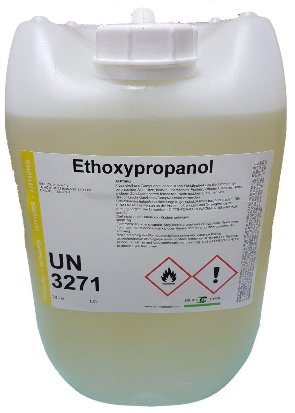 1-Ethoxypropan-2-ol - 3x10 Liter Kanister- Ethoxypropanol - Reiniger