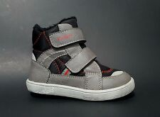 Brand New $120 KICKERS Boys Boots Toddler LEATHER Fashion Size 7 USA/23 EURO