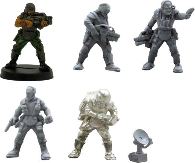 Colonial marines aliens 28mm metal Unpainted Wargames