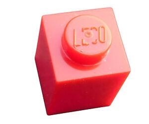 Lego-25x-Stein-1x1-rot-red-Steine-Basicsteine-3005-Neu
