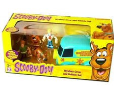 Vehicle Play Set New Scooby Doo Mystery Solving Crew 5 Figure