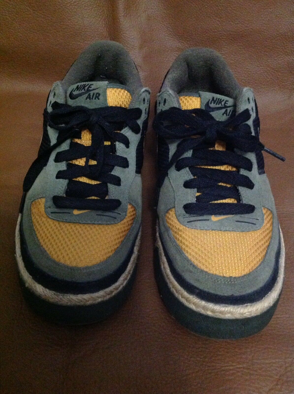 Nike Air Captivate Men's 314336-371 Army Olive Chutney Espadrille 314336-371 Men's - Size 12 137ce8