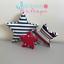 Fabric-stars-Wall-Art-Wall-Decor-Handmade-Fabric-shape-Nursery-fabric-letters thumbnail 6