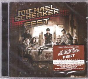 Michael-Schenker-Fest-Resurrection-CD-Korea-Import-Sealed-New