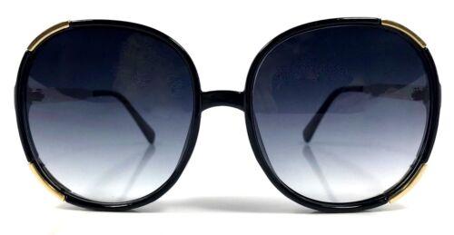 OVERSIZED Sunglasses Myrtille Women Lady  Big Huge Sunnies Gold Edges SHADZ