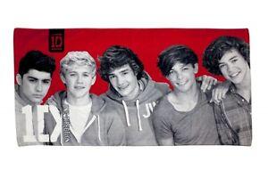 One-Direction-039-Bourreau-des-c-urs-039-imprime-Serviette-De-Plage-Officiel