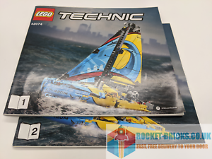 LEGO-TECHNIC-42074-RACING-YACHT-INSTRUCTION-MANUAL-ONLY-BRAND-NEW