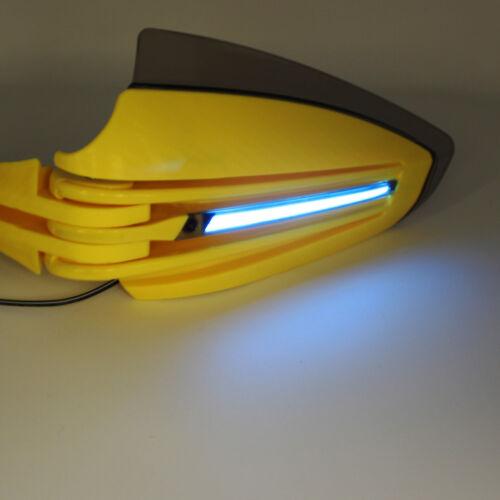 "Universal 7//8/"" Handlebar  LED Handguard Hand Guard Motorcycle Pit Dirt Bike ATV"
