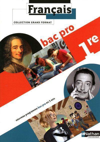 Francais 1ere Bac Pro Livre De L Eleve Edition 2010 Corinne Abensour