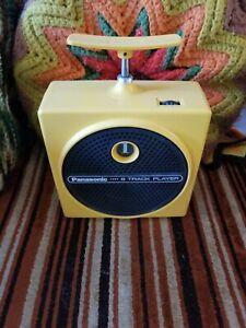 panasonic tnt 8 track player yellow working RQ-830S