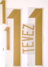 COPPA DEL MONDO ARGENTINA 2014 Away Camicia 2014-15 TEVEZ #11 DEKOGRAPHICS nome numero