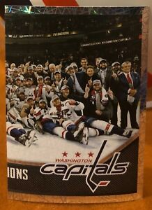 9a06b3d541b937 568 NHL 2018-19 PANINI 18-19 Capitals Stanley Cup Champions Sticker ...