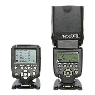 Yongnuo YN-560 III Flash Speedlite + YN560-TX YN560TX Flash Controller For Nikon