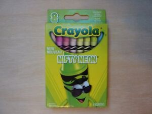 Crayola Crayon Limited Edition Cool Color Collection 8 Ct Pack