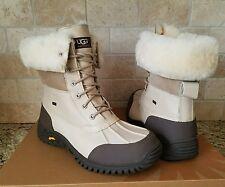 UGG Adirondack II Sand Leather / Sheepskin Waterproof Snow Boots US 8.5 Womens