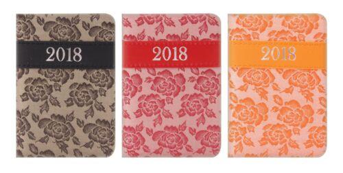 School//Organiser Week to View 2018 POCKET Diary//Diaries Design//Patterns