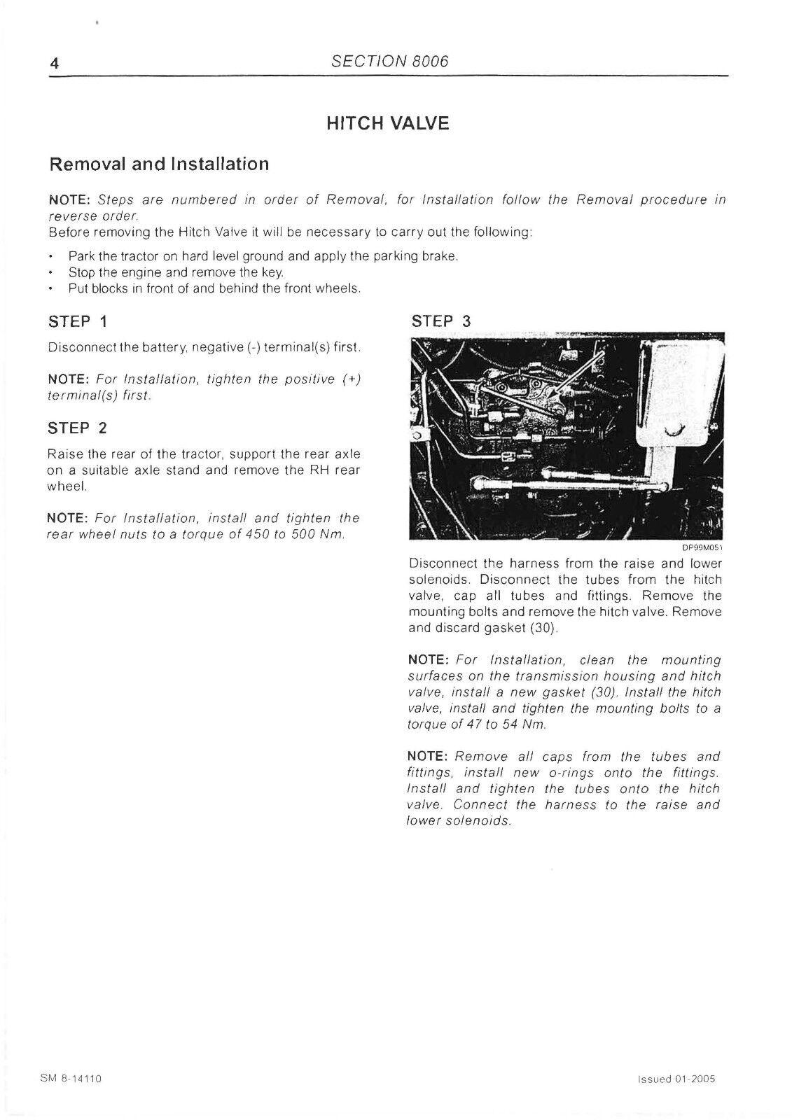 McCormick MTX MTX110 MTX120 MTX125 Tractor Service, Operator Manual More  MANUALS | eBay