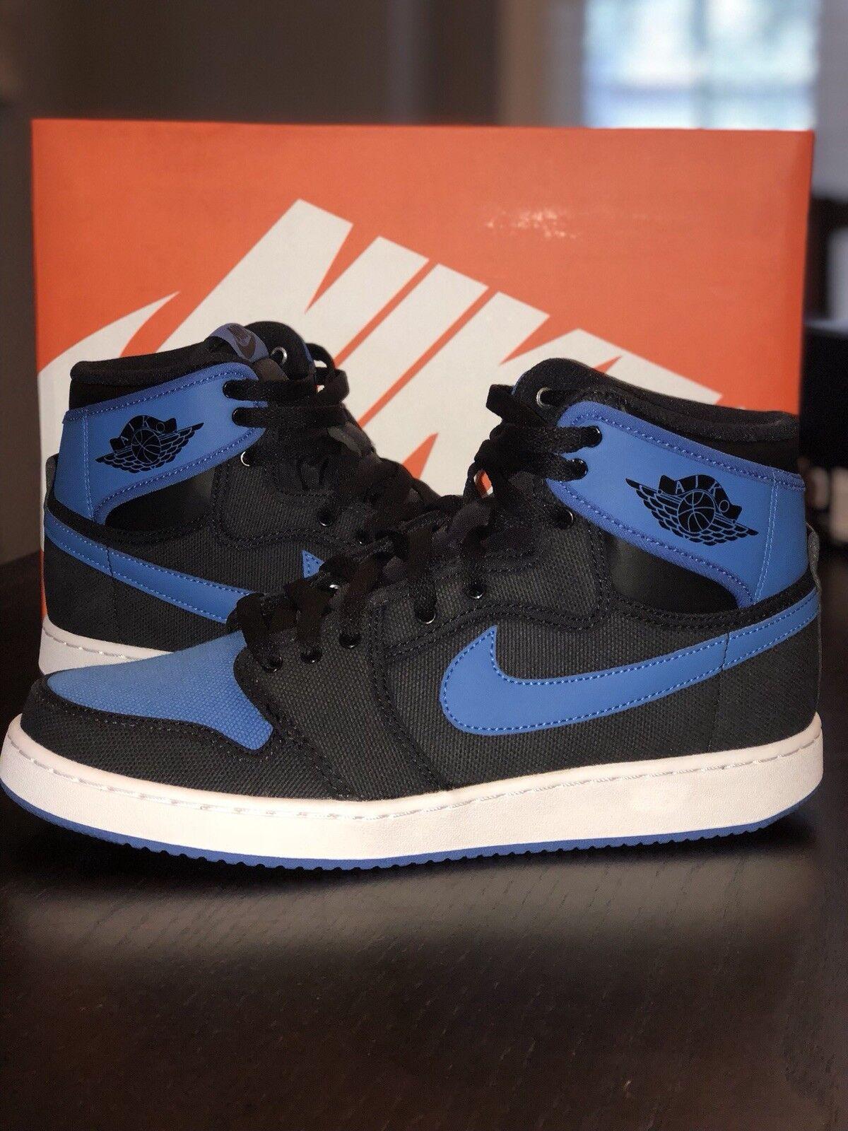 Air Jordan Retro 1 KO High OG Royal Blue/Black. Size 9