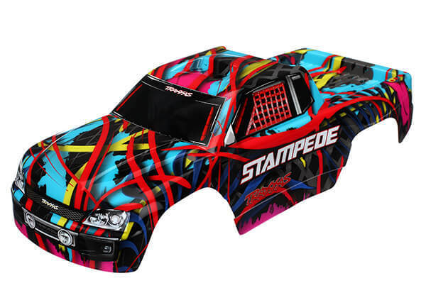 Traxxas Stampede Painted Hawaiian Body 3649 TRA3649