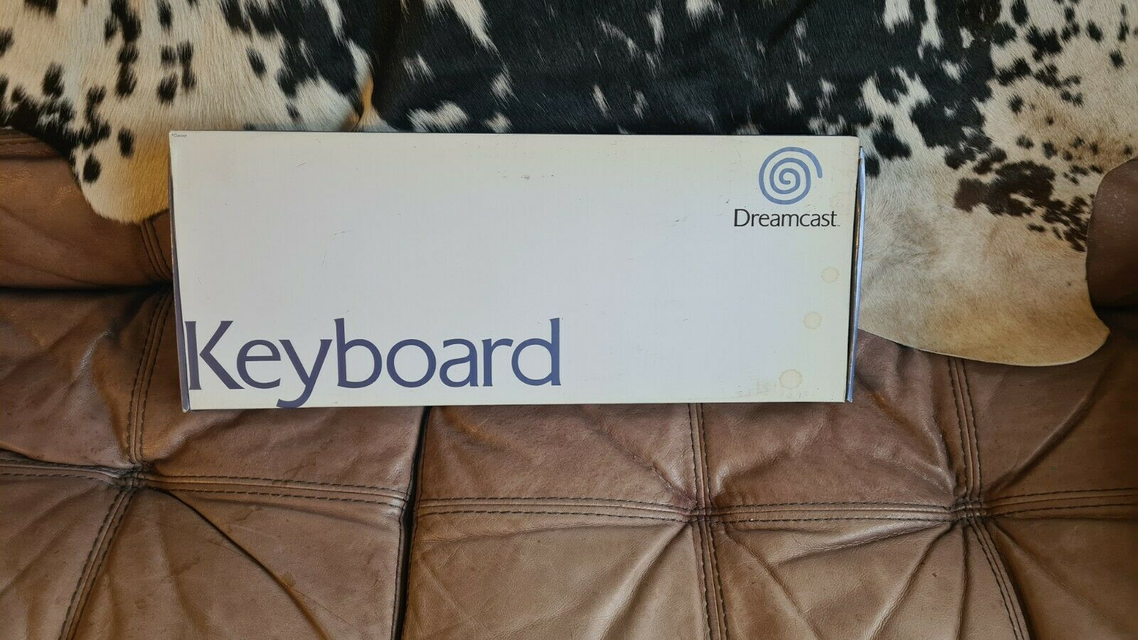 Official Sega Dreamcast Keyboard - UK QWERTY - Boxed - RARE!