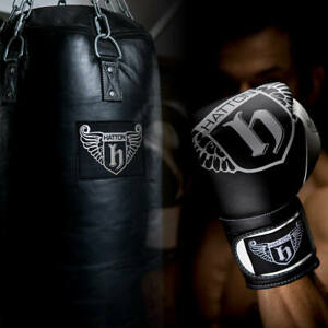 Blitz Kickboxing Gloves Open Palm PU Semi Contact Black Blue Red