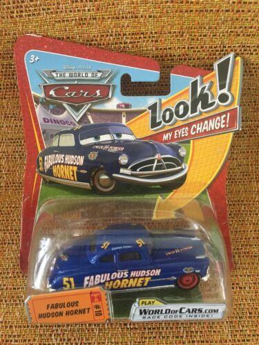 My Eyes Change! Doc Hudson Fabulous Hudson Hornet #10 Look