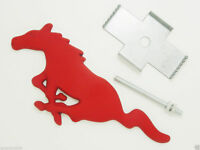Red Mustang Running Horse Grille Badge 3d Metal Front Grill Grille Emblem