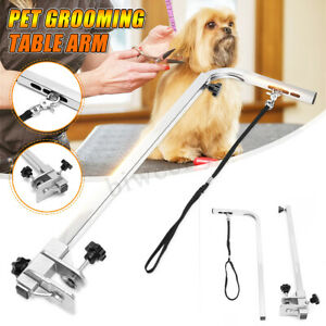 Adjustable-Portable-Metal-Table-Arm-Support-For-Pet-Dog-Grooming-Bath-Table-Desk