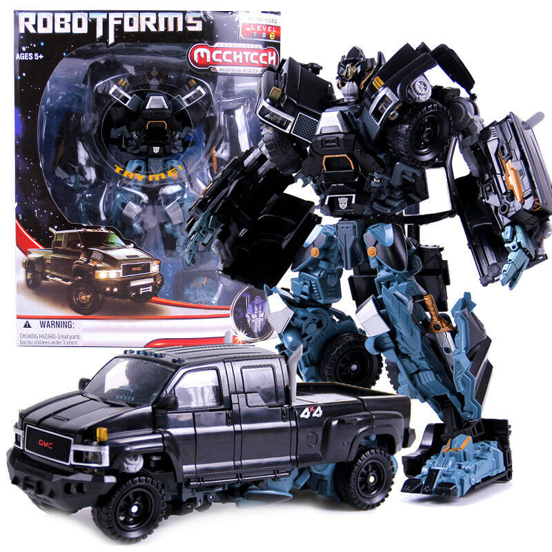 Dark of The Moon Lead Ironhide Action Figure 9.8  Toy New in Box
