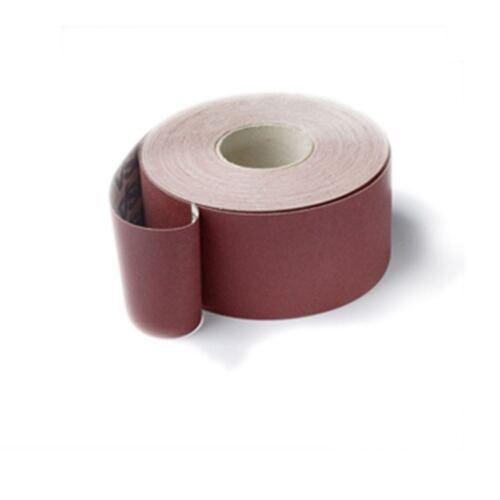 VSM 50 M schleifleinen Papier abrasif rôle largeur 25 mmkorn 180