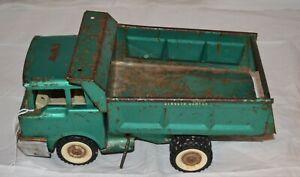 Teal Green Structo Dumper Dump Truck