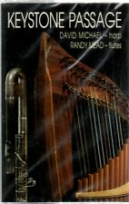 KEYSTONE PASSAGE by David Michael (Harp) & Randy Mead (Flute) ** Sealed Cassette
