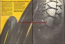 Continental K112 / RB2 Tyre 1980 Magazine Advert #769