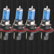 Lot4 H13/9008 100W 12V 6000K Super White Gas Halogen Headlight Light Lamp Bulbs