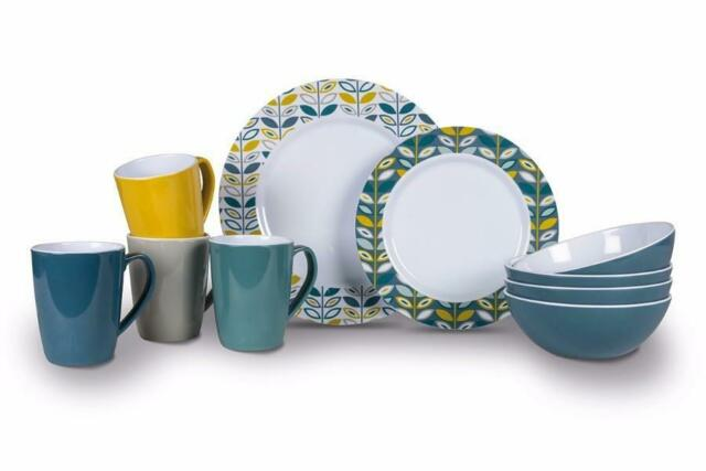Kampa Flora Heritage Dinner Set 16 Piece