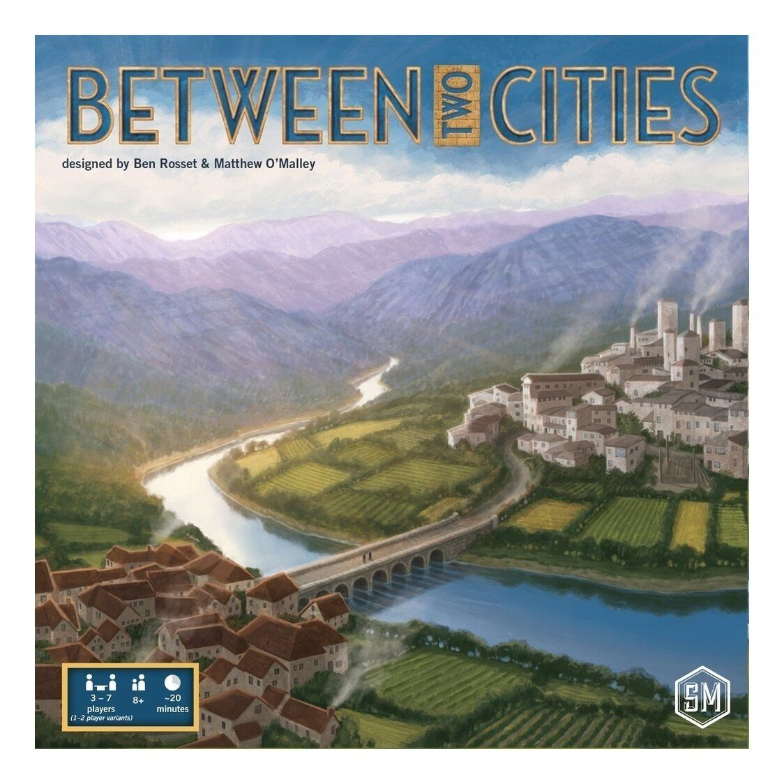 Between Two Cities Board Game - Brand New