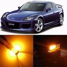 Alla Lighting Front Turn Signal Light 7440NA Amber LED Bulb for 04~08 Mazda RX-8