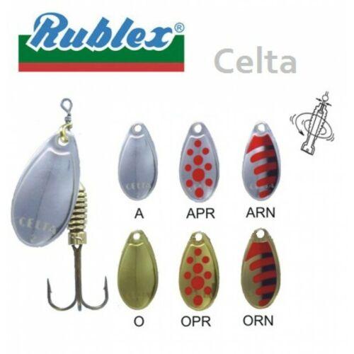 Rublex Celta trout spinner color ARN