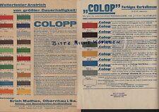 OLBERNHAU, Prospekt 1930, Erich Matthes Kohlen-Baumaterialien-Grosshandlung