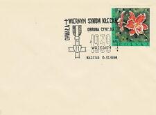 Poland postmark KLECKO - WW II sword